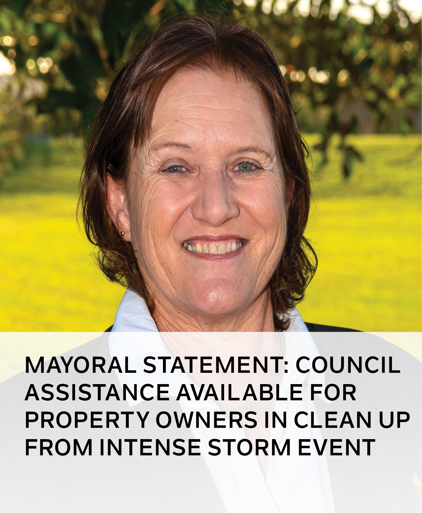 mayoral statement - storm clean up