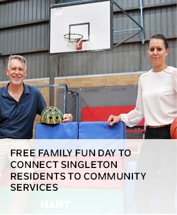 FREE FAMILY FUN DAY TO CONNECT SINGLETON RESIDENTS TO COMMUNITY SERVICES