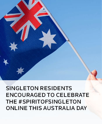 Singleton residents encouraged to celebrate the SpiritofSingleton online this Australia Day