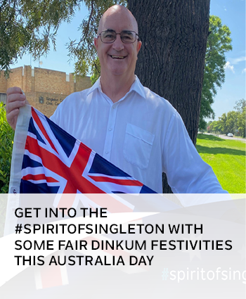 Get into the spiritofsingleton with some fair dinkum festivities this Australia Day