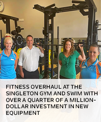 Fitness overhaul at the Singleton Gym and Swim with over a quarter of a million-dollar investment in