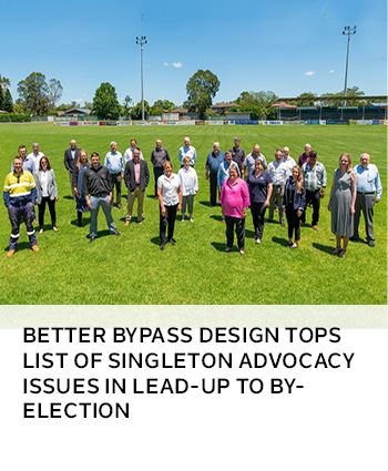 Better bypass design tops list of Singleton Advocacy issues in lead-up to by-election