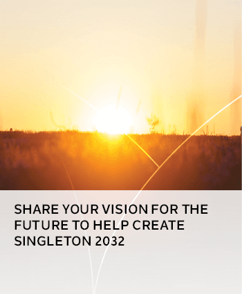 Share your vision for the future to help Create Singleton 2032