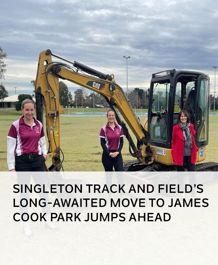 Singleton Track and Field long-awaited move to James Cook Park jumps ahead