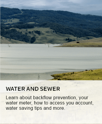 Water and sewer