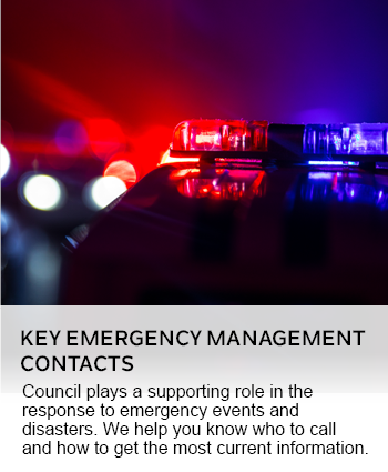 KEY EMERGENCY MANAGEMENT CONTACTS