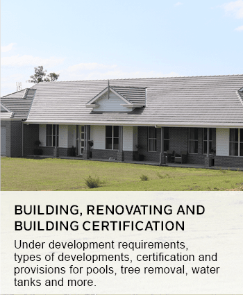 building, renovating and building certification