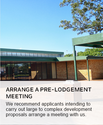 Arrange a pre-lodgement meeting