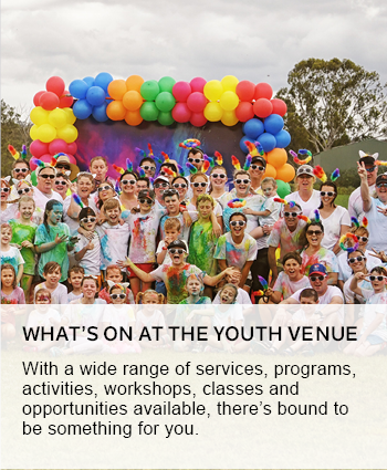 Whats on at the youth venue