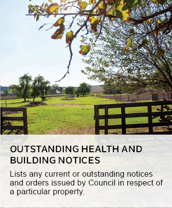 outstanding health and building notices