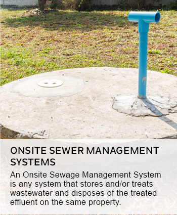 Onsite Sewer Management Systems