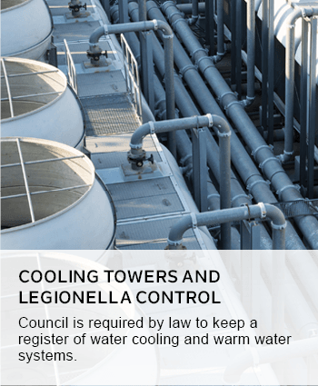 cooling towers and legionella control