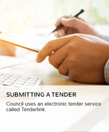 Submitting a tender