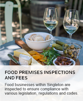 food premises inspection and fees