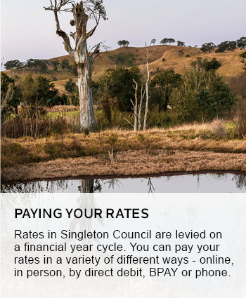 Paying your rates