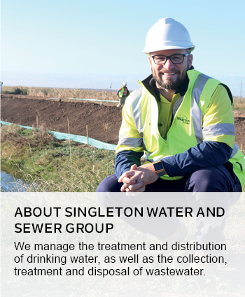 About Singletons Water and Sewer Group
