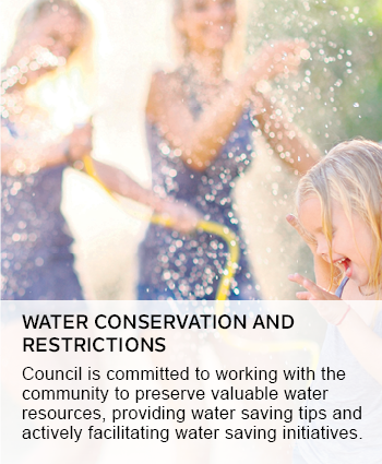 water conservation and restrictions