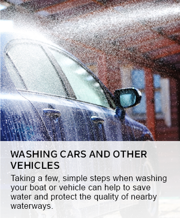Washing cars and other vehicles