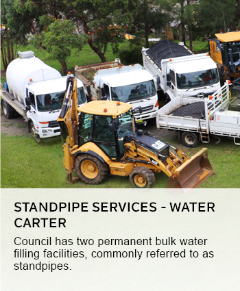 standpipe services -water carter