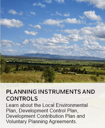 Planning instruments and controls