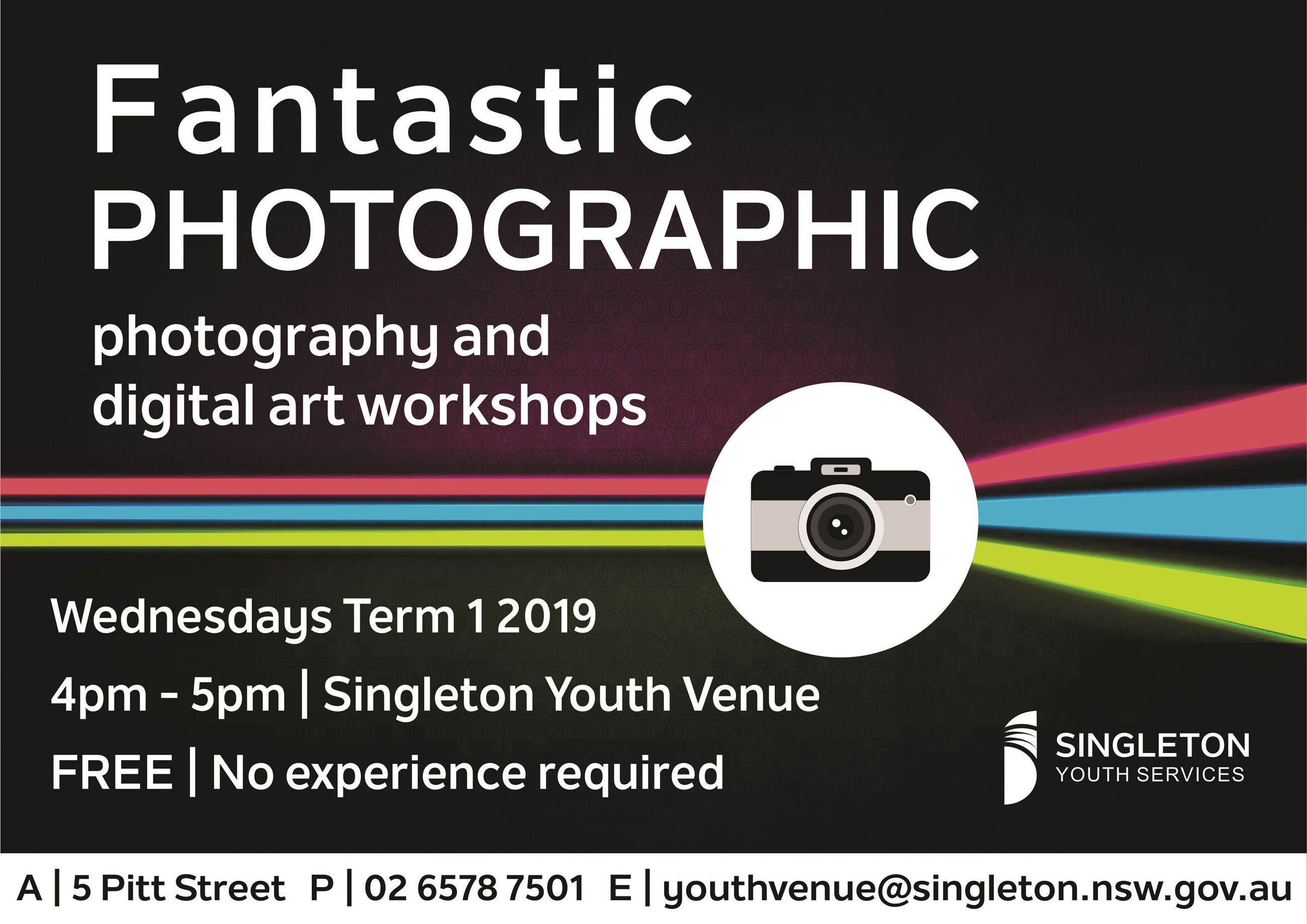 FantasticPhotographic Term 1 2019 - Flyer