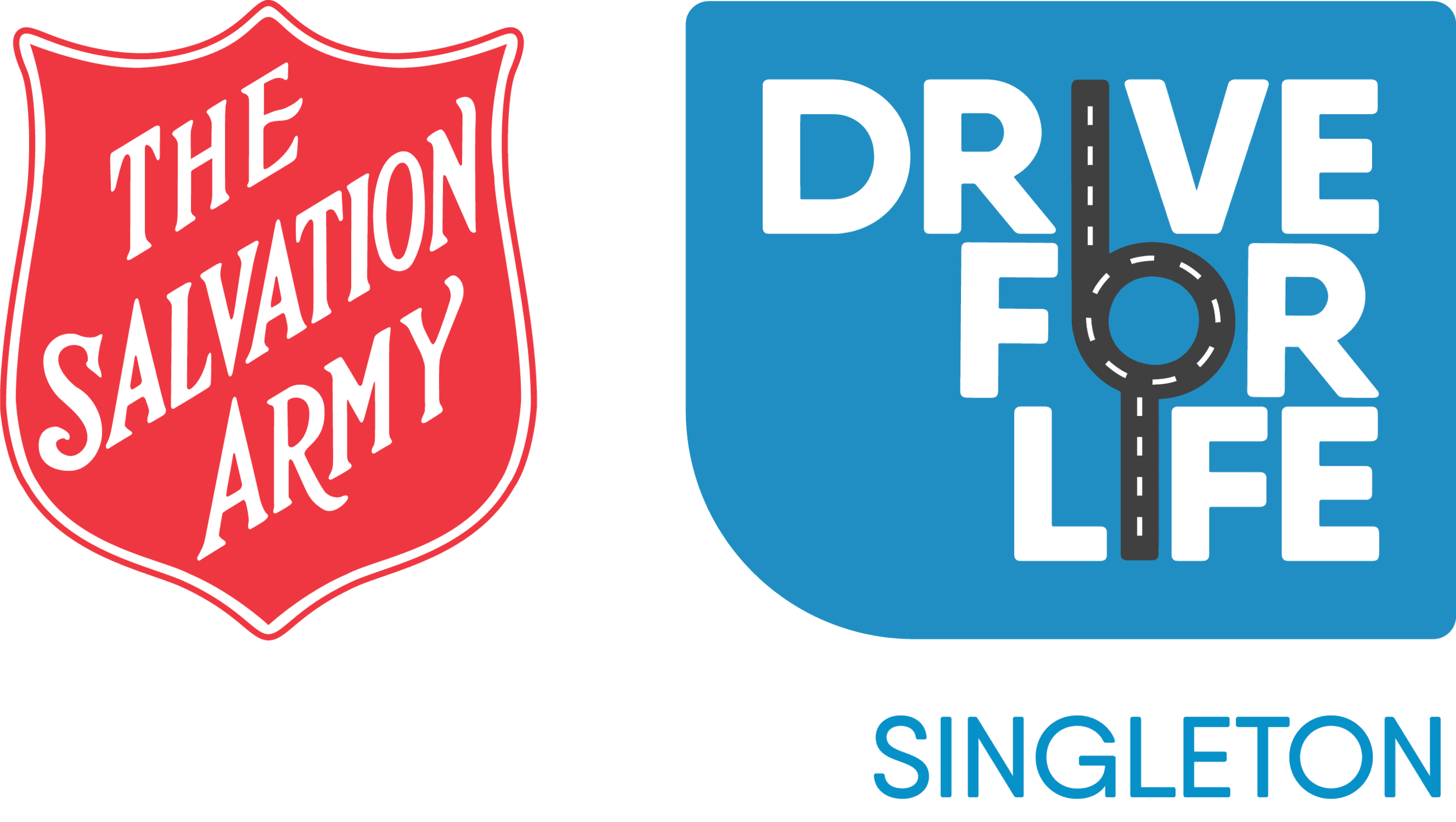 Salvation Army Drive for Life Logo